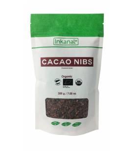 Cacao criollo BIO en nibs 200g de Inkanatura