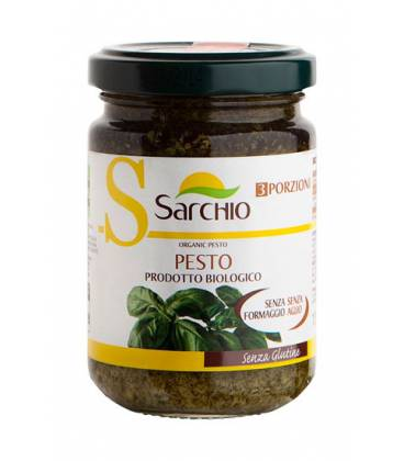 SALSA PESTO VERDE BIO 130g de Sarchio