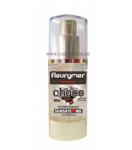 Lubricante natural comestible sabor chocolate 50ml de Fleurymer