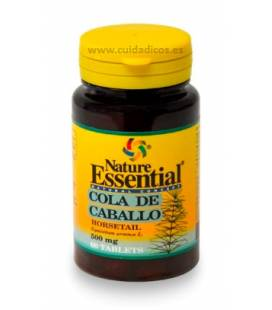 COLA DE CABALLO 500mg 60 tabletas de Nature essential
