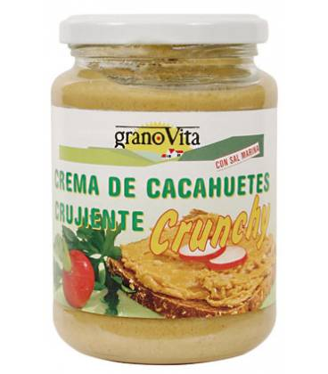 Crema de cacahuete Crunchy de Granovita