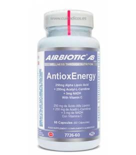 Antioxenergy 60 Cápsulas de Airbiotic