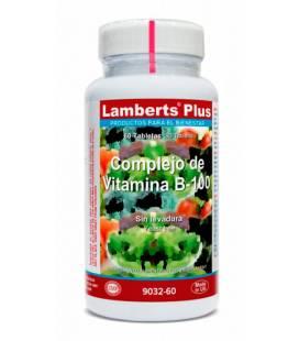 COMPLEJO DE VITAMINA B100 60 Tabletas de Lambert Plus