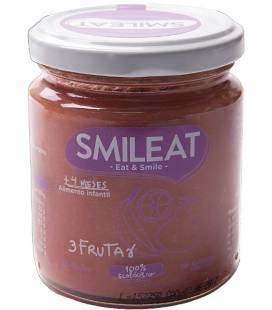 Potito BIO de tres frutas (+4 meses) de Smileat