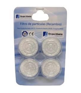 Pack de 4 filtros de repuesto para Ecogrifo Irisana