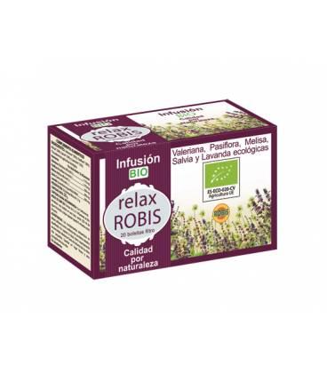 Infusión BIO Relax Robis 20 bolsitas 1,3g de Robis
