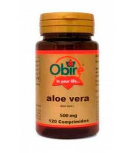 Aloe Vera 500mg 120 comprimidos de Obire