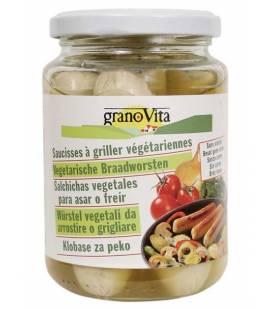 Salchicha vegetal para asar o freir de Granovita (Tarro de cristal)