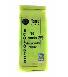 Té verde BIO GINPOWDER con menta 100g de Tatsu Tea