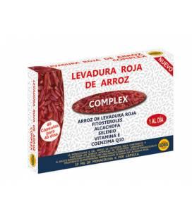 Levadura roja de arroz 40 cápsulas de 500mg de Robis