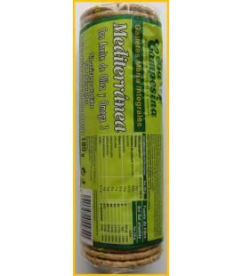 Galletas Maria integrales mediterranea con aceite oliva y omega 3 180g de La Campesina