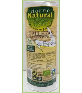 Galletas integrales digestivas espelta BIO 200g de Horno Natural