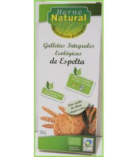 Galleta integral espelta BIO 100g de Horno Natural
