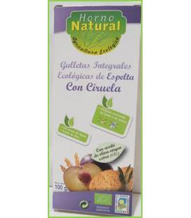 Galleta integral espelta ciruela BIO 100g de Horno Natural