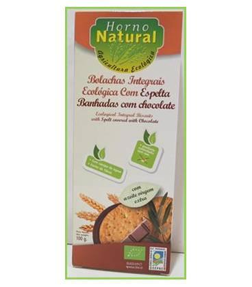 Galleta integral espelta chocolate BIO 100g de Horno Natural