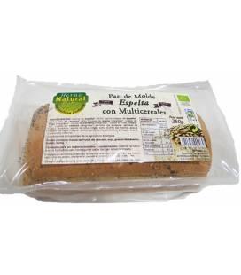 Pan de molde integral de espelta multicereales BIO 260g de Horno Natural