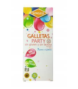 Galletas party sin gluten y sin lactosa SINGLU 150g La Campesina