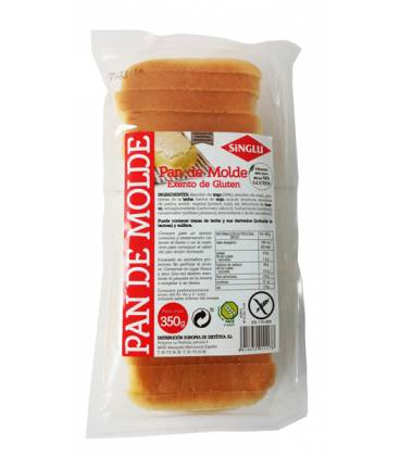 Pan molde SINGLU de trigo 350g de La Campesina