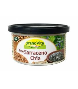 Pate de trigo sarraceno y chia BIO lata 125g de Granovita