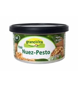 Pate nuez y pesto BIO lata 125g de Granovita