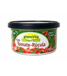 Pate de tomate con rúcula BIO lata 125g de Granovita