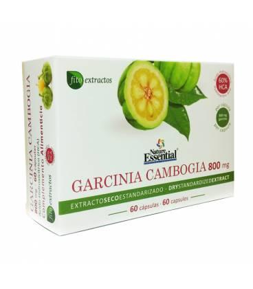 Garcinia Cambogia 800mg (extracto seco 60%HCA) 60 cápsulas de Nature Essential