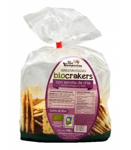 Biocrakers con semillas de chia 150g de La Campesina