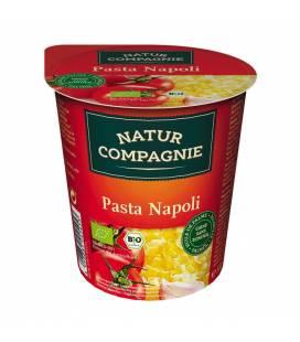 Tallarines con salsa de tomate BIO 59g vaso de Natur Compagnie
