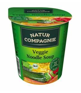 Sopa de verduras con tallarines BIO 50g vaso de Natur Compagnie