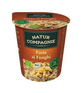 Sopa de pasta con setas BIO 50g vaso de Natur Compagnie