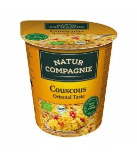 Couscous oriental instántaneo BIO 68g vaso de Natur Compagnie