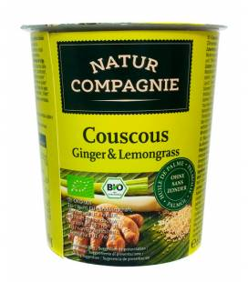 Couscous con Jengibre y lemongrass instantáneo BIO vaso de Natur Compagnie