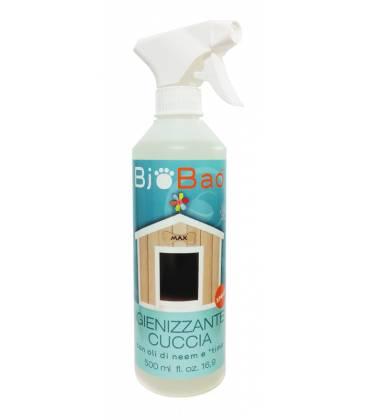 Spray BIO desinfectante para perreras 500ml de BioBao