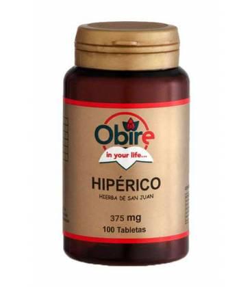 Hipérico (Hierba de San Juan) 375mg 100 Comprimidos de Obire