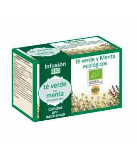 Té verde y menta BIO 20 bolsitas de 1,5g de Robis