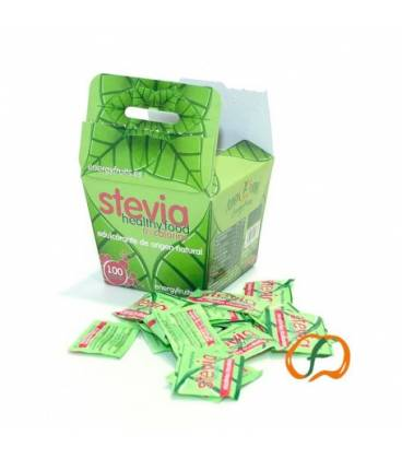 Stevia sobres individuales 100 unidades de Energy Fruits
