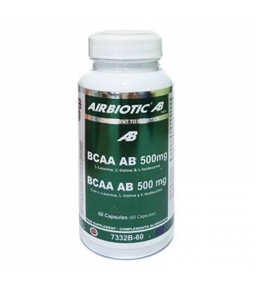 BCAA AB 50mg 60 capsulas de Airbiotic