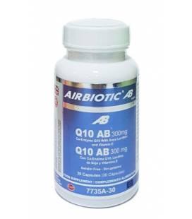 CO-ENZIMA Q10 300mg 30 Cápsulas de Airbiotic AB