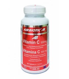 Vitamina C AB Complex 500mg 60 tabletas de Airbiotic