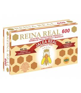 Reina Real 600 20 ampollas de 10 ml de Robis