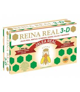 REINA REAL 3D 20 Ampollas de 10ml de Robis