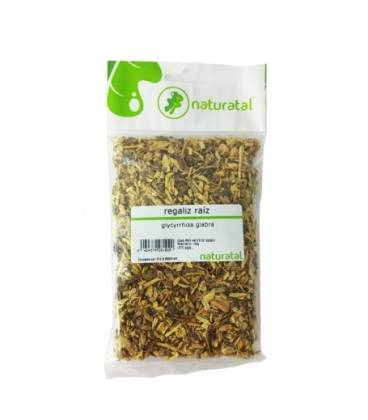 Regaliz raiz triturado 100 gr de Naturatal