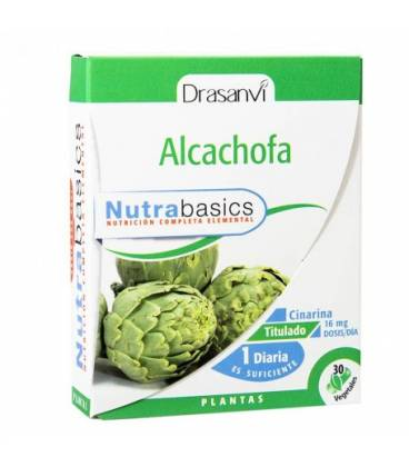 Alcachofa 30 cápsulas Nutrabasics de Drasanvi