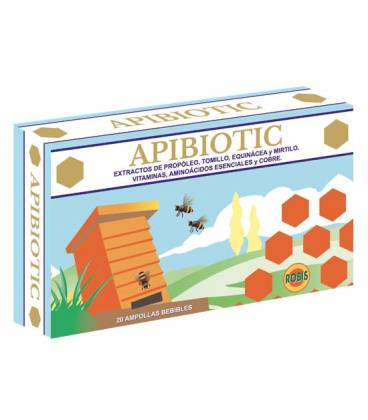 Apibiotic 20 ampollas de 10ml de Robis