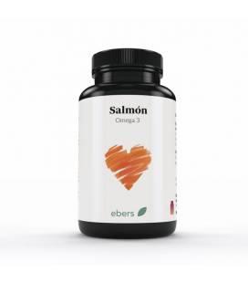 Aceite de salmón Omega 3 120 perlas de 500 mg de Ebers