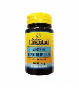 Aceite de hígado de bacalao 30 perlas de 1000mg de Nature Essential