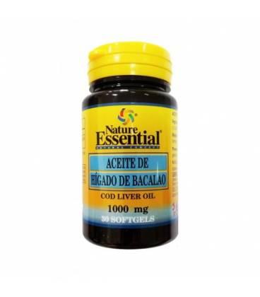 Aceite higado bacalao 1000 mg 30 perlas de Nature Essential