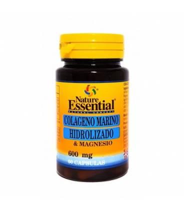 Colageno marino hidrolizado y magnesio 60 capsulas de Nature Essential