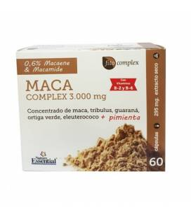 Maca complex 3000 mg 60 cápsulas de Nature Essential