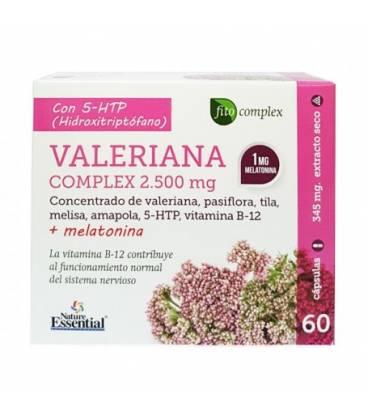 Valeriana complex 1500 mg 60 capsulas de Nature Essential